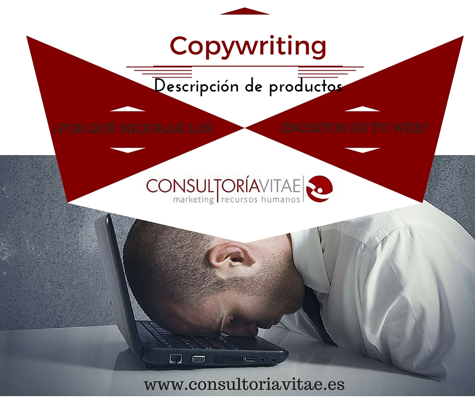 Descripción de productos, aplicando Copywriting